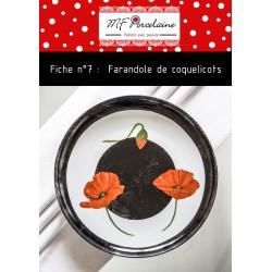 Fiche n° 7 - La farandole de coquelicots