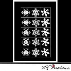 Sticker motif Etoiles - Fiche n°20 : Noël Magique