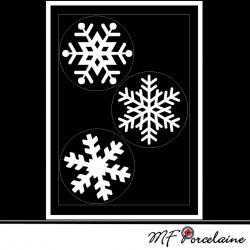 Sticker motif Grandes Etoiles - Fiche n°20 : Noël Magique