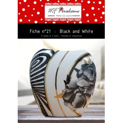 Fiche n°21 - Black and White -  Télechargeable