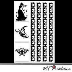 Sticker Motif FLEURS