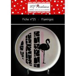 Fiche n°25 - Flamingos