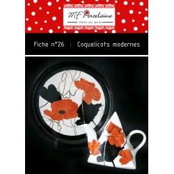 Fiche n°26 - Coquelicots modernes