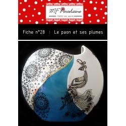 Fiche n°28 - Le paon et ses plumes
