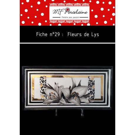 Fiche n°29 - Fleurs de Lys