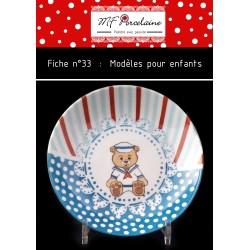 Fiche n°33 - Modèles pour enfants - Fille et Garçon