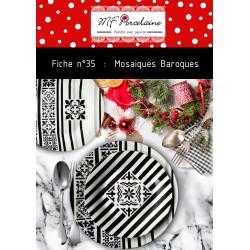 Fiche n°35 - Téléchargeable - Mosaïques Baroques