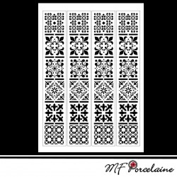 "35 - Sticker ""MOSAIQUES BAROQUES"" - BANDES"