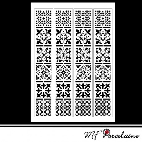 "Sticker ""MOSAIQUES BAROQUES"" - BANDES"
