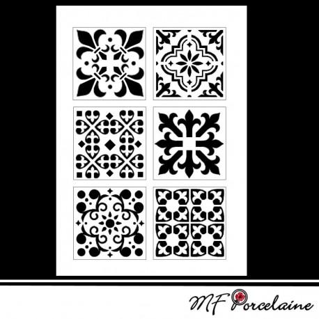 "Sticker ""MOSAIQUES BAROQUES"" - BANDES"