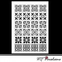 "35c - Sticker ""MOSAIQUES BAROQUES"" - motifs PETITS"