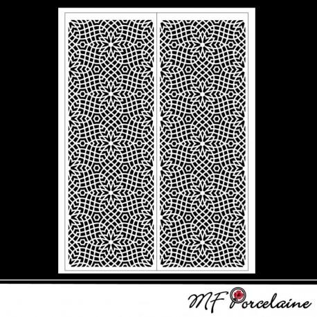 "Sticker ""MOSAIQUES BAROQUES"" - motifs  MOYENS"