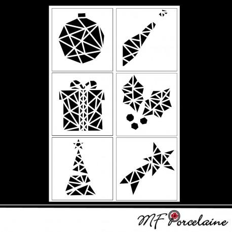 Sticker motifs de noel