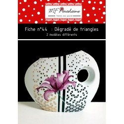 Fiche n°44 - Dégradé de triangles
