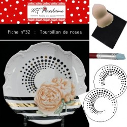 KIT n° 32 - Tourbillon de roses