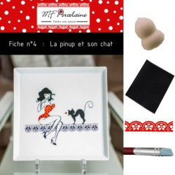 Kit n°3 - La pinup et son chat