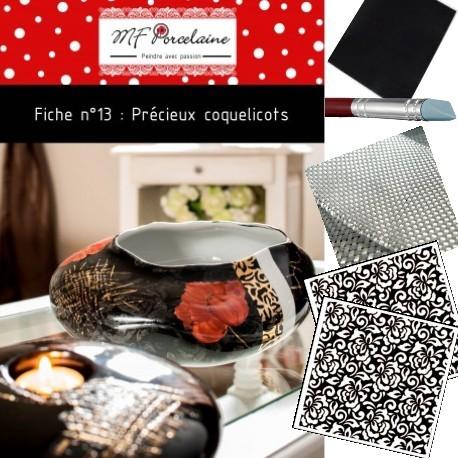 Kit n°4 - Précieux coquelicots