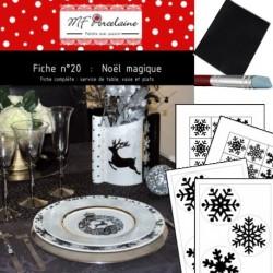 Kit n°20 - Noël Magique complet