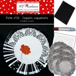 KIT n° 9 - Coquet coquelicot