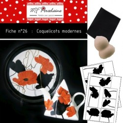 KIT n° 10 - Coquelicots Modernes