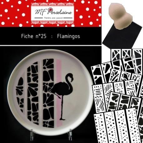 KIT n° 11 - Flamingos