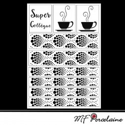 68 - Sticker MUG Super collègue